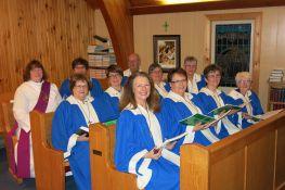 Choir & Bishop Peddle